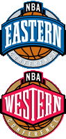 nba east vs west conferences