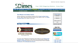 5Dimes Casino Review – Is 5 Dimes a Safe Betting Site?