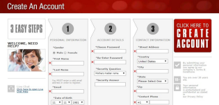 Create Account at BOL