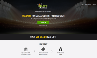 DraftKings Homepage