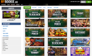 MyBookie.ag Casino Games