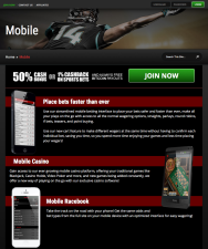 WagerWeb.ag Mobile